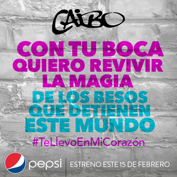 caibo pepsi estereo marketing